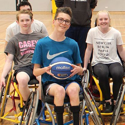 Wheelie basketball hoop dreams :http://www.helpinghandishere.com.au/wheelie-basketball-hoop-dreams/