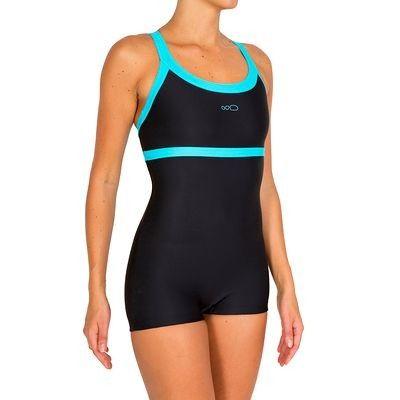 Maillots femme Maillots de bain - maillot natation femme 1 pièce SHORTY KARO NOIR NABAIJI - Tous les maillots de bain 14.95