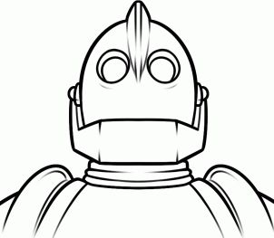 15 best iron giant party images on pinterest the iron for Iron giant coloring pages