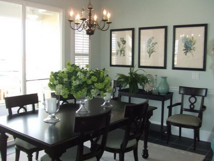Decorating ideas dining room dining room buffet for Dining room area ideas
