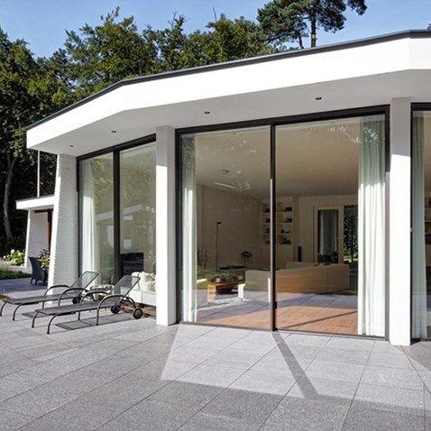 Methermo ramen en deuren: slanke aluminium profielen