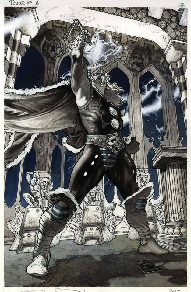 Thor by Simone Bianchi