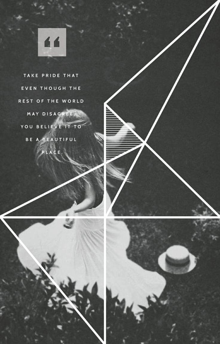 #Inspiration design print up with a little #quote from Kurt Vonnegut