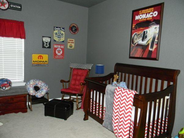 Andersons Vintage Car Man Cave Junior S Room Baby Nursery Boy Nurseries