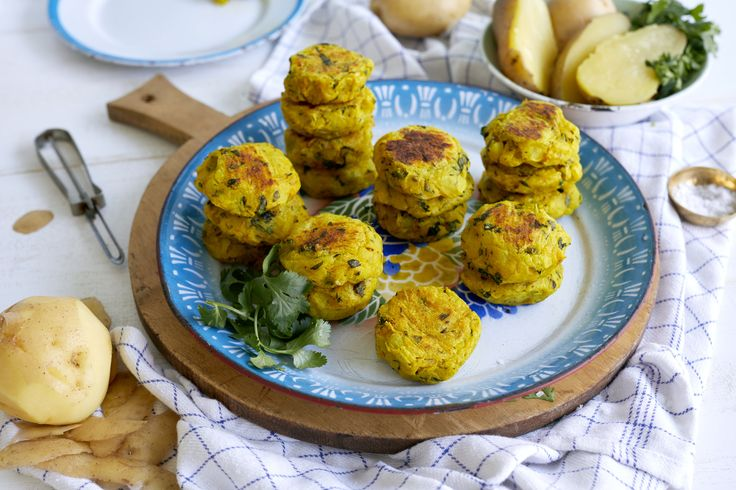 Recipe: Aloo Tikki (Golden Potato Croquettes) — South Indian New Year's Eve