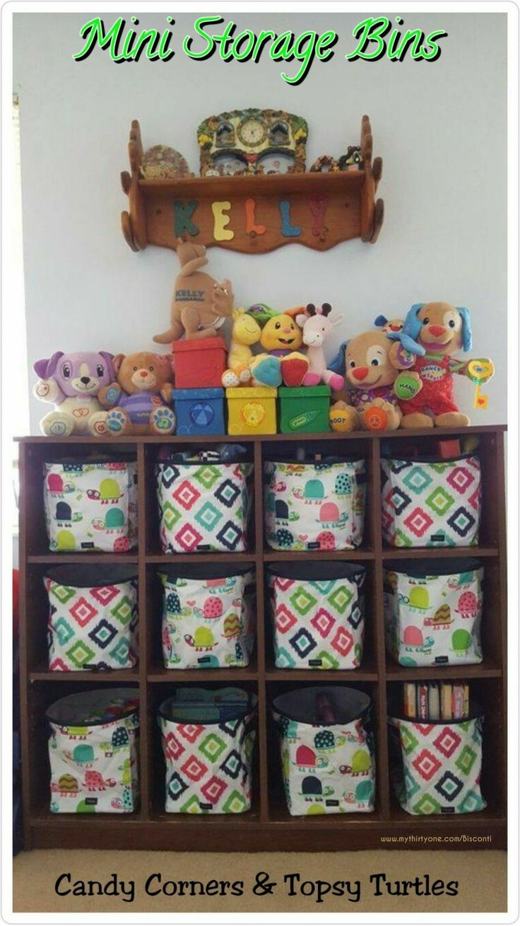 Mini Storage Bins Mini Storage Bins In Topsy Turtle And