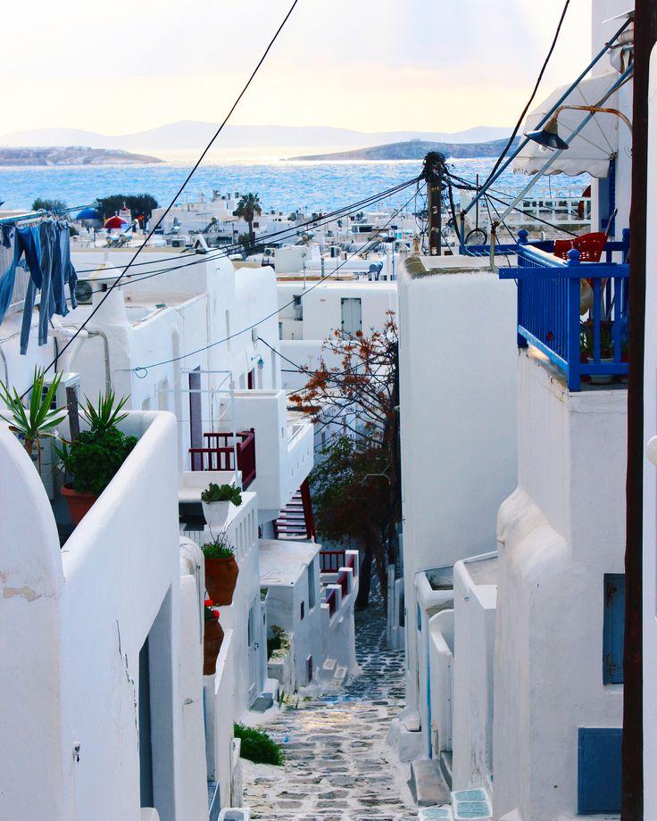 Mykonos, beautiful Greek island! Click photo for travel blog