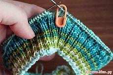 Тонкости вязания на круговых спицах.