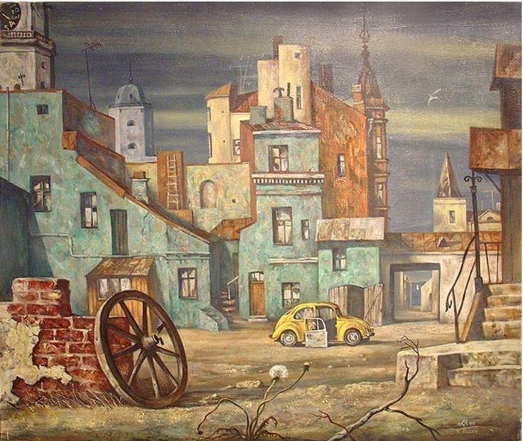 Петербург, художник Кирилл Аланнэ