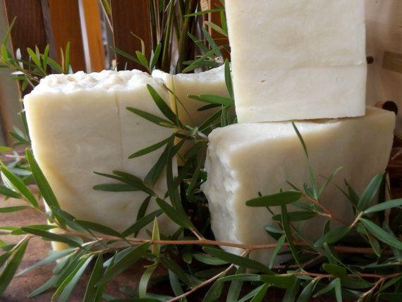 100% Extra Virgin Olive Oil Soap: Lemon Tea by AllsortsofSoaps