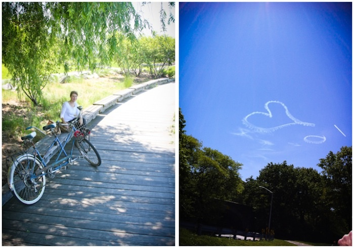 Biking along Hudson River