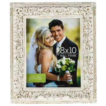 "8"" x 10"" White Wedding Wall Frame"