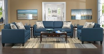 Living Room Furniture-The Azure Collection-Azure Sofa