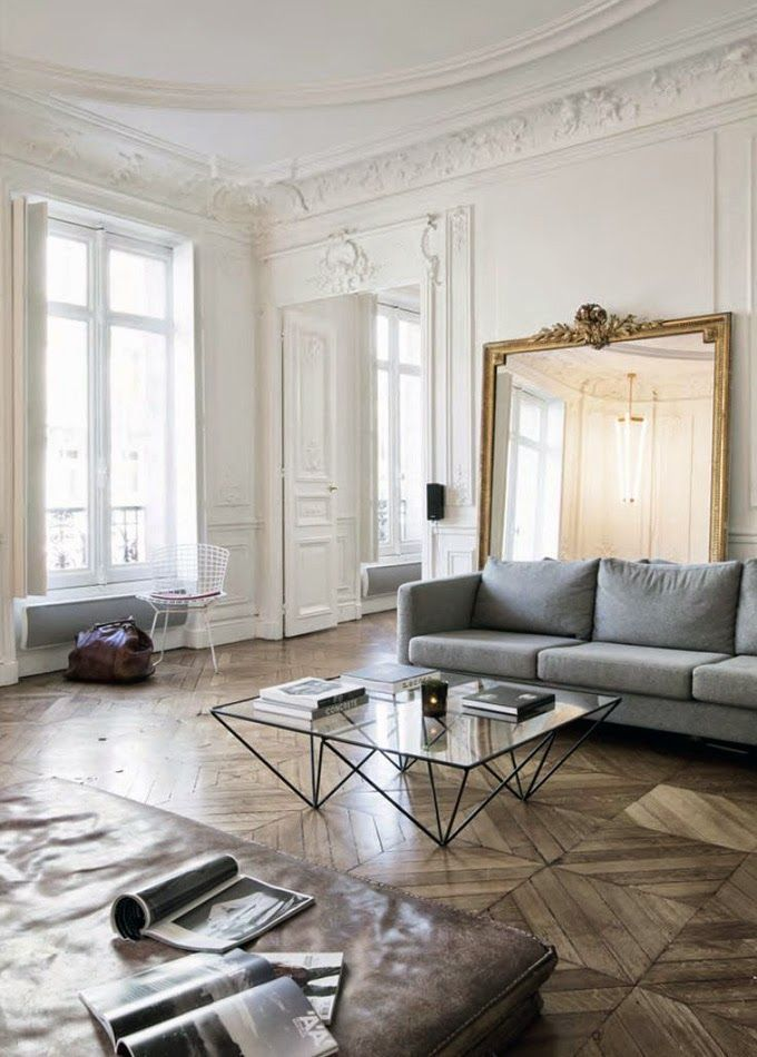 french apartment in 2019 | Living room inspiration, Home ...