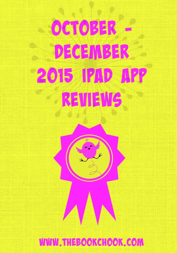 My October - December 2015 iPad App Reviews