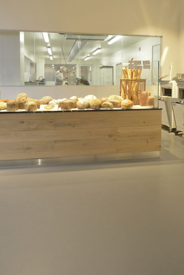 Allemeersch Bakery in Brussels with Bolidtop flooring.