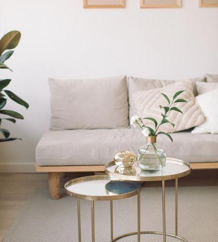 7 Couchtisch-Alternativen für kleine Wohnzimmer, # ...