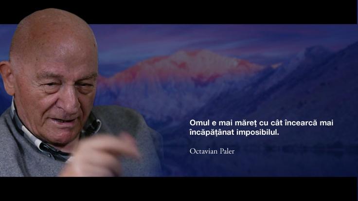 Omul e mai maret cu cat incearca mai mult imposibilul. -- Octavian Paler