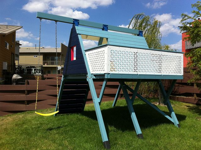 34 best images about modern playscape on pinterest diy for Diy play structures backyard