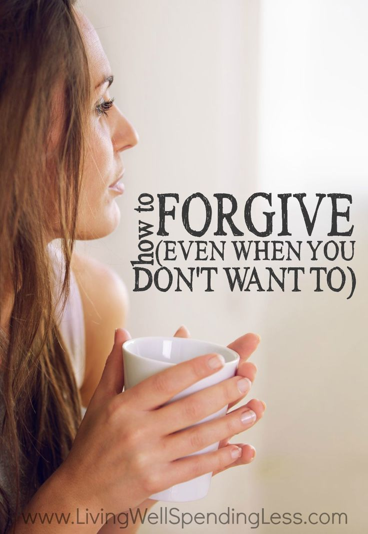 I forgive you. Few words in the English language are more powerful, and yet the idea of forgiving someone who has let us down, hurt us, or betrayed us, can sometimes feel almost impossible. If you've been struggling with letting go of anger, don't miss these practical tips for how to forgive (even when you don't really want to.)