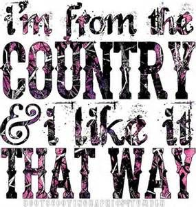 I'm from the country & I like it that way. #CountryLife #CountryGirl #CountryQuote