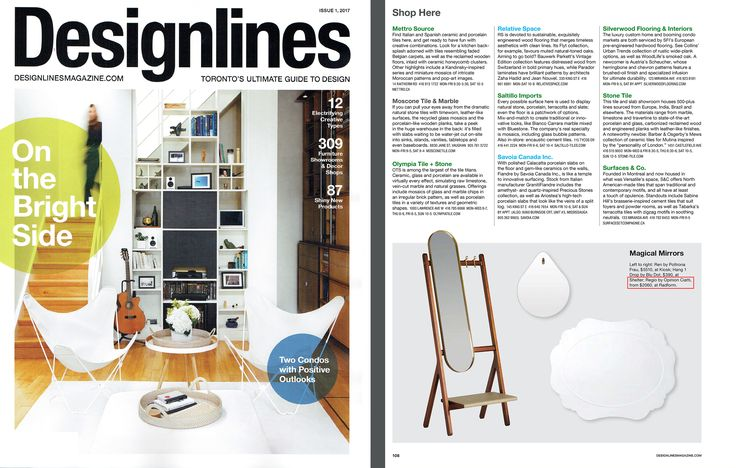 RADform was featured in the spring 2017 issue of Designlines Magazine. #radform #press #media #designlines #homedecor #interiordesign #moderndesign