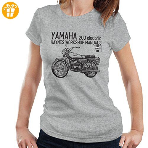 Haynes Owners Workshop Manual Yamaha 200 Electric Women's T-Shirt (*Partner-Link)