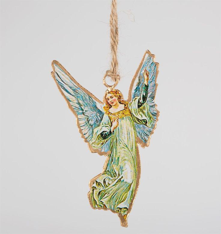 Nostalgic Blue Angel Hanging Decoration