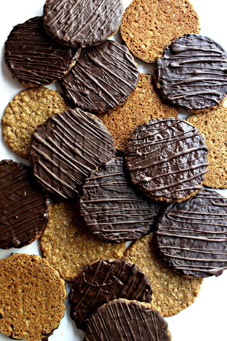 Chocolate Covered Hobnob Oat Cookies, lightly sweet oat cookies with a crunch, are one of the most popular cookies in the United Kingdom. A chocolate coating takes Hobnobs up a notch on the wonderful cookie scale.| themondaybox.com