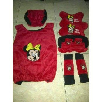 BANTAL MOBIL SET 5 IN 1 MINNIE MOUSE https://www.bukalapak.com/chamboja