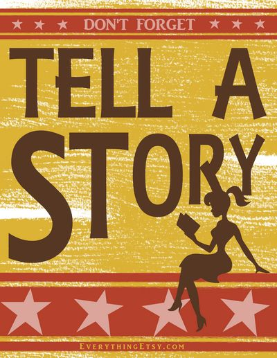 In your job interview, tell a story