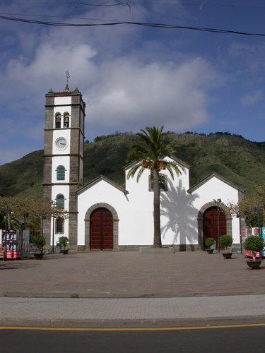 Iglesia de San Marcos, en Tegueste, Tenerife.
