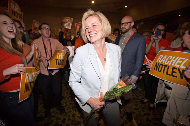Orange crush: Rachel Notley's NDP stomp out 44-year PC dynasty