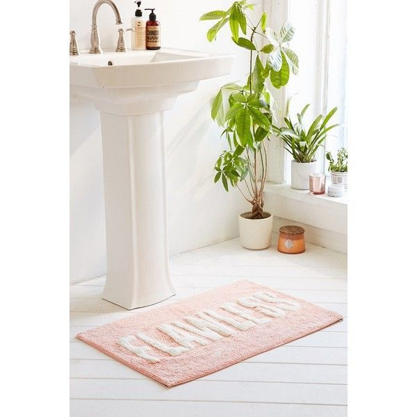 Flawless Bath Mat Featuring Polyvore