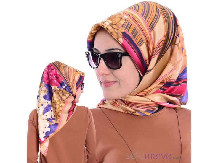 Karaca Poly Eşarp Modelleri #sefamerve #tesetturgiyim #tesettur #hijab #tesettür
