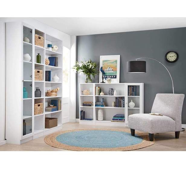 Lynx Large Wide Bookcase with Glass Doors | Bookcase Units | Fantastic Furniture - Australia's Best Value Furniture & Bedding