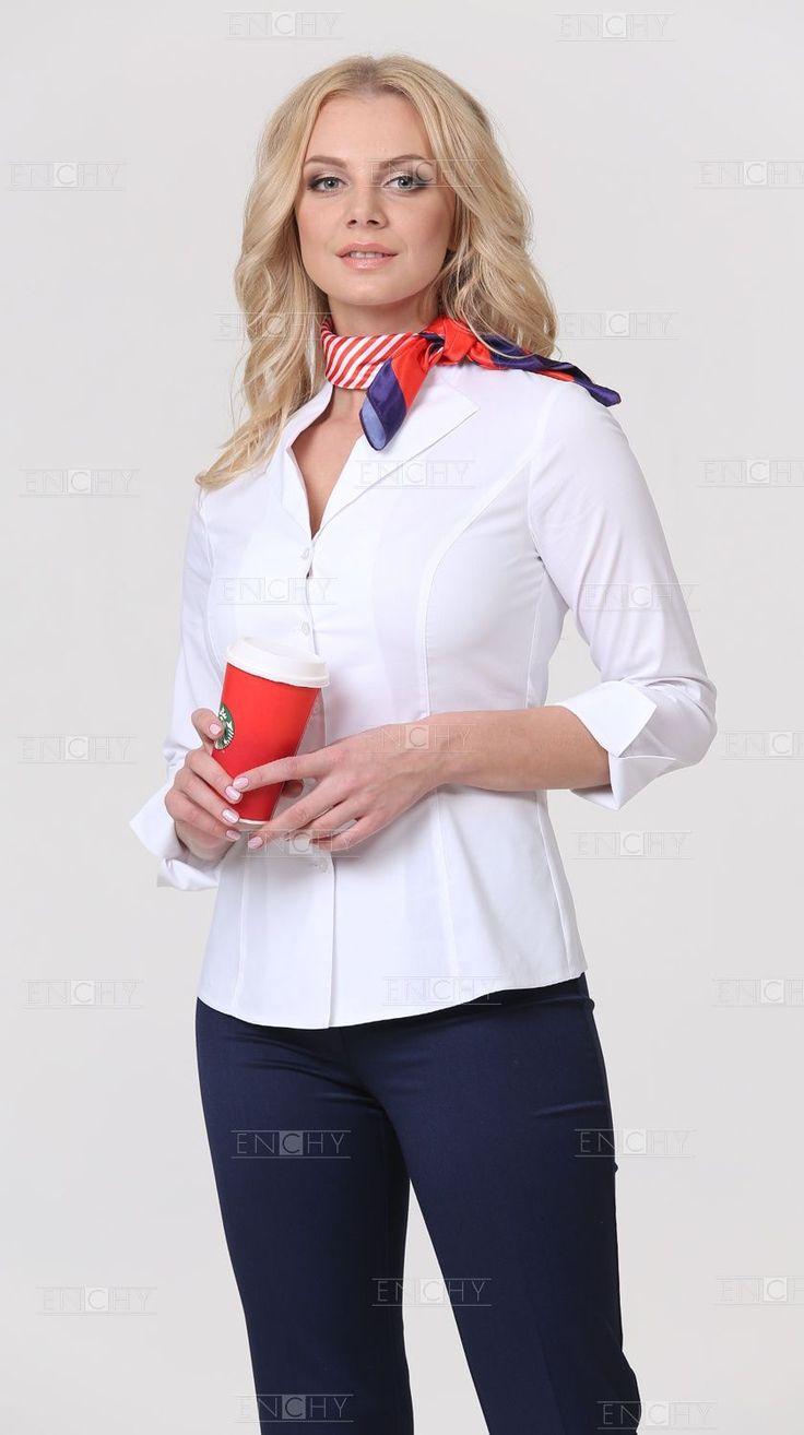 Блузы с рукавом ¾