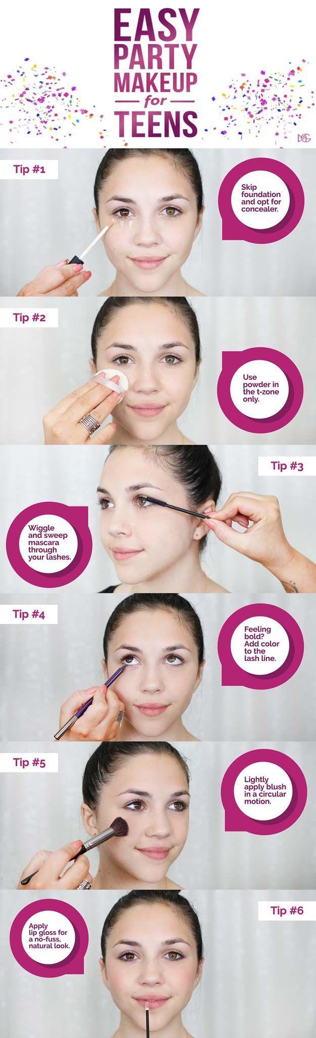 Melhor Maquiagem Tutorial Para Adolescentes – Maquiagem Fácil Artist For Teens – Simple Ma