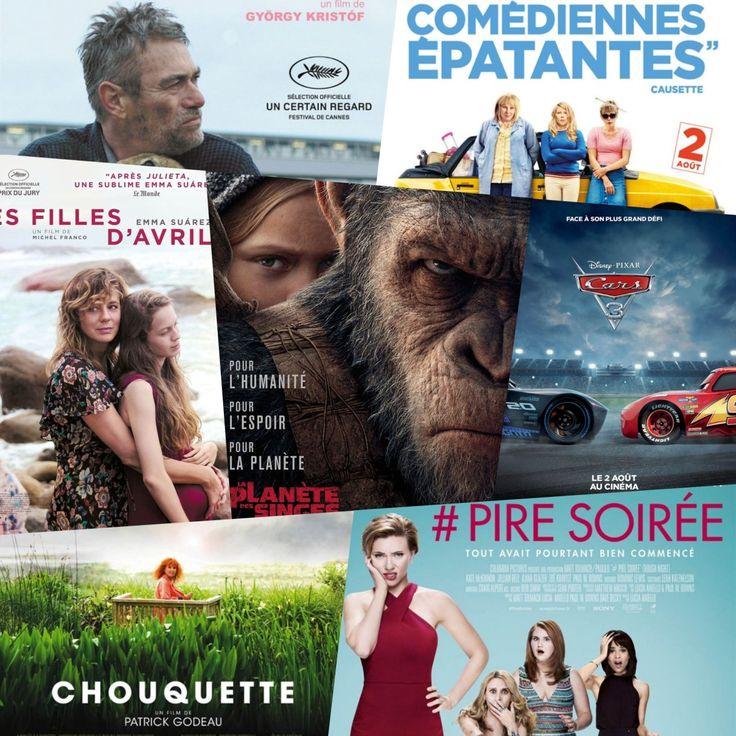 Sorties Cinéma : Mercredi 2 Août 2017