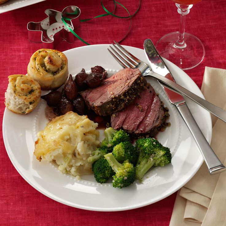Easy & Elegant Tenderloin Roast Recipe -I love the simplicity of the recipe. Olive oil, garlic, salt and pepper. Just add the tenderloin and pop it in the oven. In an hour or so you've got an impressive main dish to feed a crowd. This leaves you with more time to visit with family and less time fussing in the kitchen. —Mary Kandell, Huron, Ohio