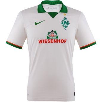 Werder Bremen Trikot Away 2014 - Das Auswärtstrikot von Werder Bremen. Hol's dir jetzt! http://www.fanandmore.de/Bundesliga/Werder-Bremen-Trikot-Away-2014.html