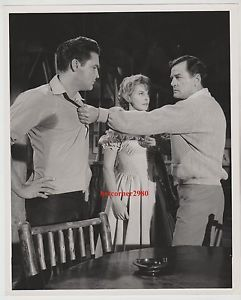 "Elvis Presley, Lola Albright & Gig Young in ""Kid Galahad"""