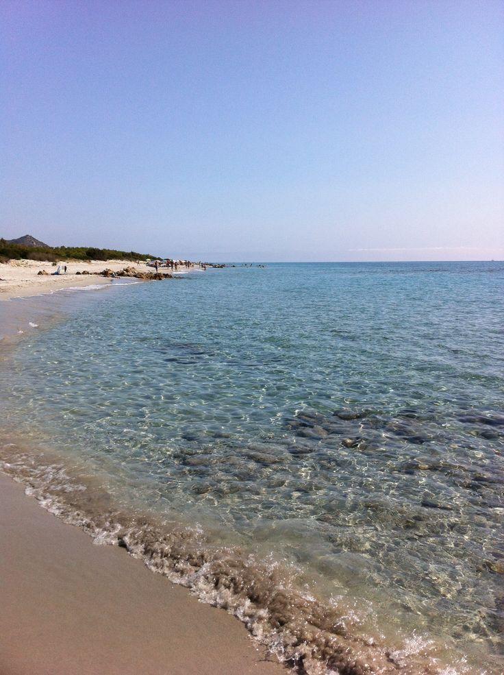 Una delle 10 spiagge più belle al mondo: Berchida beach Sardegna