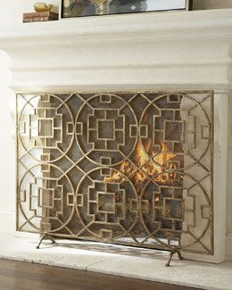 64 best Fireplace Screens images on Pinterest | Fireplace screens ...