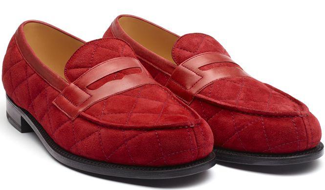 J. M. Weston invite Charlie Casely-Hayford|  ジェイエムウエストン インバイツ チャーリー・ケイスリー=ヘイフォード 「#180 Loafer」レッド(スペシャルオーダーモデル) 10万8000円