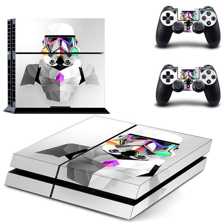 Movie Star War PS 4 Sticker PS4 Skin for Sony PS4 PlayStation 4 and 2 controller skins