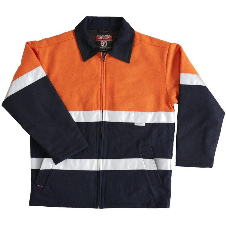 Tanker Hi Vis Safety Jacket | brahmaindustrial