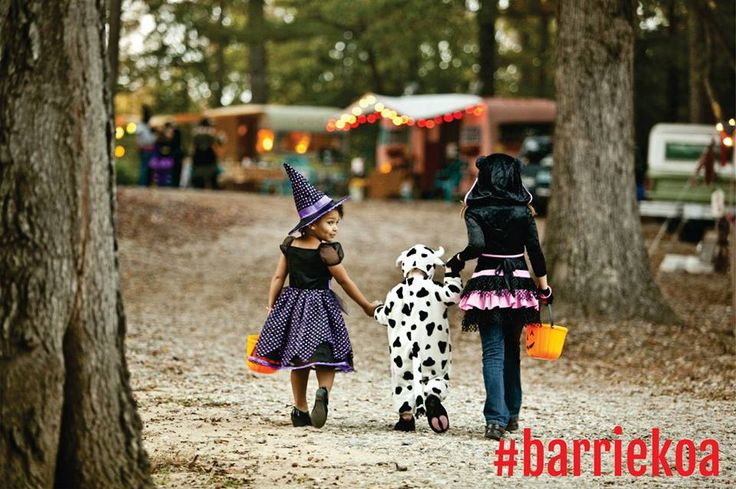 The Hallo-weekEND. October 13-15. S'more Halloween fun! Join us for our closing weekend. It's going to be eerie-sistable!