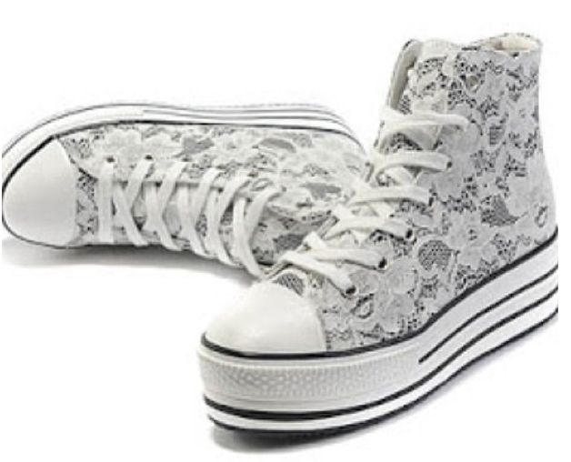 how to clean white converse laces