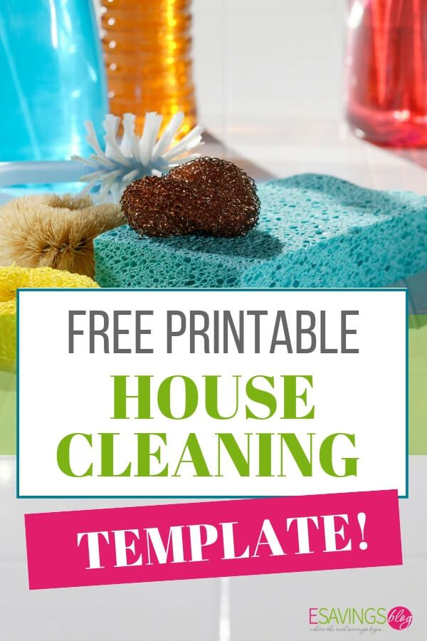 image relating to Free Printable Cleaning Schedule Template called The Rewards of a Area Cleansing Plan Free of charge Printables